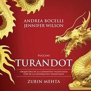 CD image for ANDREA BOCELLI / PUCCINI: TURANDOT (2CD)