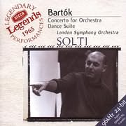 LP image SIR GEORG SOLTI / BARTOK: CONCERTO FOR ORCHESTRA AND DANCE SUITE (VINYL)