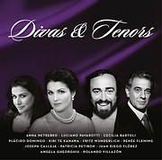 CD image DIVAS AND TENORS - (VARIOUS) (2 CD)