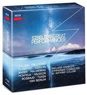 CD image SIBELIUS / GREAT PERFORMANCES (11CD)