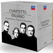 CD image for QUARTETTO ITALIANO / THE COMPLETE PHILIPS AND DECCA RECORDINGS (37CD)
