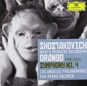 CD image SHOSTAKOVICH / PROLOGUE TO ORANGO - SYMPHONY NO.4 (PEKKA SALONEN) (2CD)