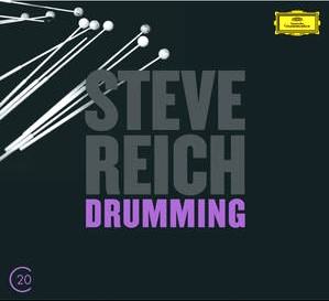 CD image STEVE REICH / DRUMMING - MUSIC FOR MALLET INSTRUMENTS - 6 PIANOS (20C THE MUSIC OF 20TH CENTURY) (2CD)