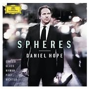 CD Image for DANIEL HOPE / SPHERES