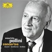 CD Image for MAURIZIO POLLINI / CONCERTOS MOZART - BEETHOVEN - BRAHMS (8 CD)