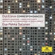 CD Image for DUTILLEUX / CORRESPONDANCES
