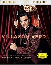 DVD image BLU - RAY AUDIO / VILLAZON / VERDI - ORCHESTRA TEATRO REGIO TORINO / NOSEDA