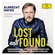 CD image for ALBRECHT MAYER / LOST AND FOUND