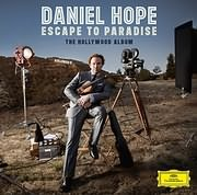 CD image for DANIEL HOPE / ESCAPE TO PARADISE / THE HOLLYWOOD ALBUM