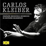 CD image for CARLOS KLEIBER / COMPLETE ORCHESTRAL RECORDINGS ON DEUTSCHE GRAMMOPHONE (4LP) (VINYL)