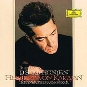 CD + DVD image BEETHOVEN / 9 SYMPHONIES - HERBERT VON KARAJAN (5CD + BLU - RAY AUDIO)