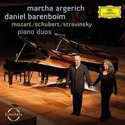 CD image MARTHA ARGERICH - DANIEL BARENBOIM / PIANO DUOS