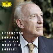 CD image BEETHOVEN / PIANO SONATAS OP. 31 AND 49 (MAURIZIO POLLINI)