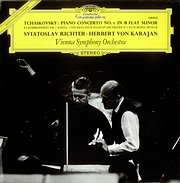 LP image TCHAIKOVSKY / PIANO CONCERTO NO.1 IN B FLAT MINOR (RICHTER - KARAJAN) (VINYL)