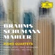 CD image for BRAHMS - SCHUMANN - MAHLER / PIANO QUARTETS (DANIEL HOPE - PAUL NEUBAUER - DAVID FINCKEL - WU HAN)