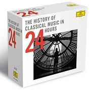 CD image THE HISTORY OF CLASSICAL MUSIC IN 24 HOURS (24CD) - (VARIOUS)