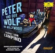 CD image BUNDES JUGENDORCHESTER / PETER AND THE WOLF IN HOLYWOOD (NARRATED BY ALICE COOPER)