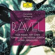 CD image RAVEL / COMPLETE ORCHESTRAL WORKS (YUJA WANG, LIONEL BRINGUIER, RAY CHEN) (4CD)
