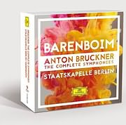 CD image BRUCKNER / THE COMPLETE SYMPHONIES (BARENBOIM) (9CD)