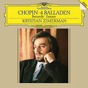 CHOPIN / 4 BALLADS (KRYSTIN ZIMMERMAN) (VINYL)