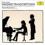LP image LISZT / WAGNER TRANSCRIPTIONS (DANIEL BARENBOIM) (VINYL)