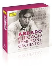 CD image CLAUDIO ABBADO / CLAUDIO ABBADO AND CHICAGO SYMPHONY ORCHESTRA (8CD BOX)