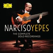 CD image for NARCISO YEPES / THE COMPLETE SOLO RECORDINGS (20CD)