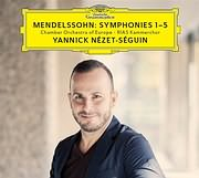 CD image for MENDELSSOHN / SYMPHONIES 1 - 5 (YANNICK NEZET - SEGUIN) (3CD)