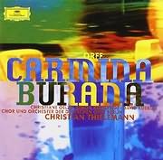 CD image for ORFF CARL / CARMINA BURANA (CHRISTIAN THIELEMANN) (VINYL)