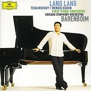 CD image for LANG LANG / TCHAIKOVSKY - MENDELSSOHN: FIRST PIANO CONCERTOS (VINYL)