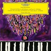 LP image RACHMANINOV / PIANO CONCERTO NO.2 IN C MINOR, OP.18, 6 PRELUDES (RICHTER, WISLOCKI) (VINYL)