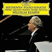 LP image BEETHOVEN / PIANO SONATAS (KEMPFF) (VINYL)