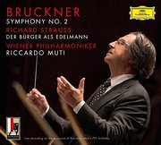 CD image for BRUCKNER / SYMPHONY NO.2 - STRAUSS R / DER BURGER ALS EDLMANN (R. MUTI, WIENER PHILHARMONIKER) (2CD)