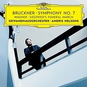 CD Image for BRUCKNER / SYMPHONY NO.7 (ANDRIS NELSON, GEWANDHAUSORCHESTER LEIPZIG)