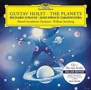 CD image for HOLST / THE PLANETS - R. STRAUSS / ALSO SPRACH ZARATHUSTRA (W. STEINBERG - BOSTON SYMPHONY ORCHESTRA)
