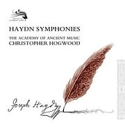 CD image HAYDN / SYMPHONIES (CHRISTOPHER HOGWOOD - THE ACADEMY OF ANCIENT MUSIC) (32CD)