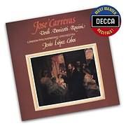CD image JOSE CARRERAS / VERDI - DONIZETTI - ROSSINI