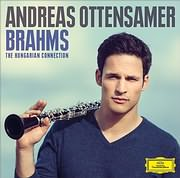 CD image BRAHMS / THE HUNGARIAN CONNECTION (ANDREAS OTTENSAMER)