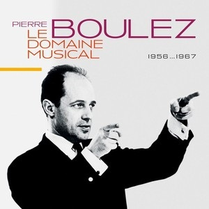 CD image for PIERRE BOULEZ / LE DOMAINE MUSICAL (10CD)