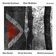 CD image MIRANDA CUCKSON - BLAIR MCMILLEN / LUTOSLAWSKI, BARTOK, SCHNITTKE