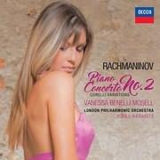 CD image RACHMANINOV / PIANO CONCERTO NO.2 (VANESSA BENELLI MOSELL)