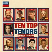 CD image TEN TOP TENORS - (VARIOUS) (2 CD)
