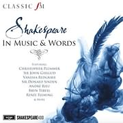 CD image SHAKESPEARE IN MUSIC AND WORDS - (VARIOUS) (2 CD)