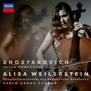 ALISA WEILERSTEIN / SHOSTAKOVICH CELLO CONCERTOS 1 AND 2
