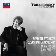 CD image for SEYMON BYCHKOV - CZECH PHILHARMONIC / THE TCHAIKOVSKY PROJECT