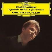 EMIL GILELS / GRIEG: LYRIC PIECES (LP+CD) (VINYL)