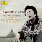 CD Image for LANG LANG / CHOPIN: THE PIANO CONCERTOS (2LP + CD) (VINYL)