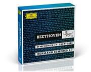 CD image BEETHOVEN / SYMPHONIES 1 - 9, OVERTURES (SCHERCHEN HERMANN) (8CD)