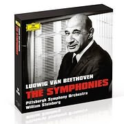 CD image BEETHOVEN / THE SYMPHONIES (WILLIAM STEINBERG, PITTSBURG SYMPHONY ORCHESTRA) (5CD)