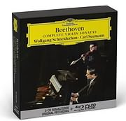 CD image for BEETHOVEN / COMPLETE VIOLIN SONATAS (WOLFGANG SCHNEIDERHAN, CARL SEEMANN) (3CD + BLU - RAY AUDIO)